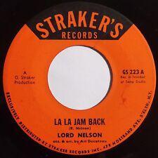 LORD NELSON: FUNK calypso ROOTS on STRAKER'S super rare LA LA JAM BACK hear