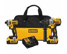 DEWALT DCK299M2 Cordless, 20V Brushless, Hammerdrill & Impact Driver Combo Kit
