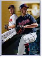Trevor Bauer 2019 Topps Gold Label Class One 5x7 Gold #19 /10 Indians