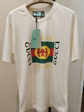 100% Authentic New Gucci Disney X Mickey T Shirt Women Size S NWT Tee White