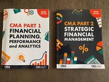 Cma Exam Academy 2020 Books Set Part 1 &2 - Euc