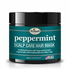 Difeel Peppermint Scalp Care Hair Mask 12 oz.