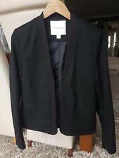 Neues Angebot* BNWOT Monsoon Damen Größe 12 Smart Gefüttert Schwarz Jacke *