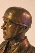 Buste d'un Soldat- Parachutiste Allemand WW2 (Fabrication artisanale Française)