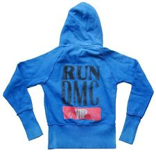 AMPLIFIED Official RUN DMC ViP Hip Hop Hoodie JACKE Kaputzen Pulli S Kids:164