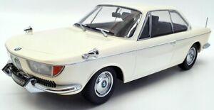 KK Scale 1/18 Scale Model Car KKDC180121 - 1965 BMW 2000 CS Coupe - Cream
