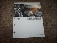 2004 Harley Davidson VRSC Street Night Rod V-Rod Factory Parts Catalog Manual