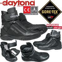 DAYTONA Gore-Tex Stiefel ARROW SPORT GTX Motorradstiefel wasserdicht Gr. 43