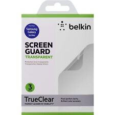 Genuine BELKIN Samsung Galaxy S4 mini Screen GUARD Protector CLEAR - Pack of 3