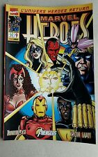 MARVEL HEROES  ,Marvel France ,panini Comics ,état neuf ,numéro = 9