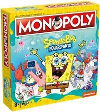 Spongebob Squarepants Monopoly New