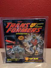 Transformers G2 (Generation Two) Dinobot Slag (Rare Silver Version) - Sealed