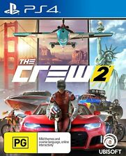 The Crew 2 PlayStation 4 PS4 Brand New Game