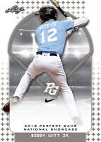 2018 Leaf Nike Perfect Game Complete 291 card Set Bobby Witt Jr Riley Greene RCs