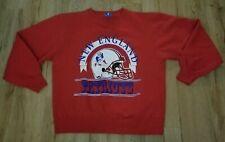 New England Patriots 1980's Champion Pullover Sweatshirt men's size-Large