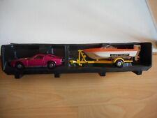 Matchbox Speed Kings Set Miura + Trailer + Boat in Purple/Yellow
