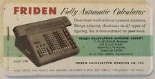 Friden Automatic Calculator, Nashville, Tennessee Ink Blotter