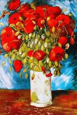 VAN GOGH - POPPIES ART POSTER - 24x36 PRINT 36308