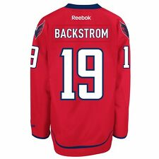4b55937d513 NHL Reebok Official Premier Home Player Jersey Collection Men s Washington  Capitals Nicklas Backstrom Red 4xl