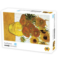 Sunflowers 1000 Piece Jigsaw Puzzle for Adult & Kids