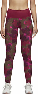 adidas Believe This Womens Long Training Tights - Pink