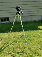 Manfrotto By Bogen 3001 Tripod With 3130 Fluid Head (missing plate)