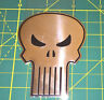 "The Punisher Sticker Classic Skull Marvel Metallic Marvel Comics 3.125"" NEW"