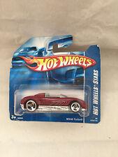 Hot Wheels mx48 Turbo 078/172 NEUF new neuf dans sa boîte short card