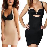 Genuine Branded Body-fit Under bust Control Seamless Dress M/>Large/</>XL/</>2XL/>/<3XL