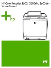 HP LaserJet 2605 Service Manual(Parts & Diagrams)