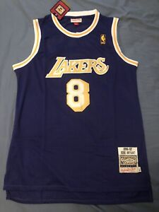 Authentic Mitchell and Ness 1996-1997 Kobe Bryant Los Angeles Lakers Jersey