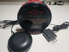 Sonic Bomb Alert Dual Alarm Clock Bed Vibrator Shaker SBB500SS