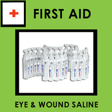 Sodium Chloride Eye and Wound Wash 15ml x25 (Saline)