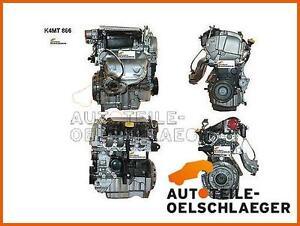 NEUER Motor RENAULT Megane Scenic new engine Motorcode K4M 866