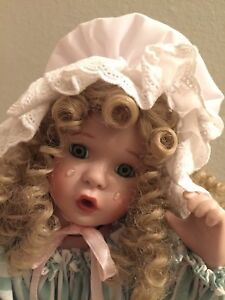 "16"" Little Bo Peep By Ashton Drake,Wendy Lawton Nursery Rhymes Porcelain CoA sig"