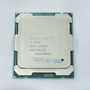 I7 6850K Intel Core i7-6850K SR2PC 6Cores 12Threads 3.6GHz X99 MB LGA2011-v3