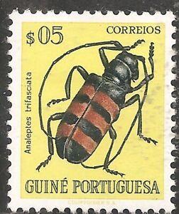 Portuguese Guinea Stamp - Scott #281/A15 5c Yellow OG Mint/LH 1953