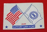 COLT FIREARMS FACTORY Union UAW Sticker 1991