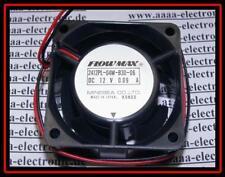 FLOWMAX Lüfter 60x60x30 Typ 2412PL-04 12V 0,09A 1 Stück