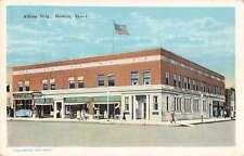 Newton Iowa Allfree Building Antique Postcard J59453