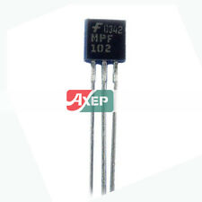 10 Pcs MPF102 MPF102G TO-92 JFET 25V 10mA Transistor 5.33mm x5.2mm x 4.19mm#GgiR