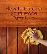 Wood Furniture Care and Maintenance PDF
