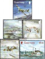 GB-Guernsey 1007-1011 (kompl.Ausg.) postfrisch 2004 Ereignisse im 2. Weltkrieg