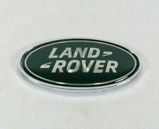RANGE ROVER EMBLEM REAR LIFTGATE GREEN/CHROME BADGE back sign symbol logo land