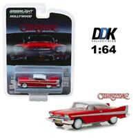 "Greenlight 44830 C 1958 Plymouth Fury ""Christine"" Diecast Model Car 1:64"