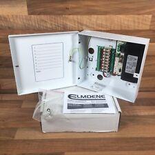 VRS124000-8-J Elmdene Switch Mode PSU CCTV 12V 4A Boxed 8 Fused ABR032