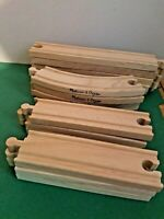 Misc - Melissa and Doug Wooden Train Track pieces Fits: Thomas / Brio - New