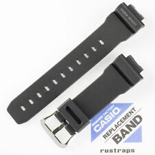 CASIO black rubber watch band for DW-6900E, 10263205