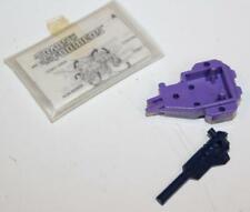 1987 Hasbro Transformers G1 Abominus Blot Parts - Laser Mount & Slime Gun