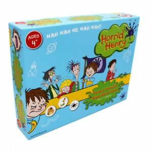 Board Game Horrid Henry's Favourite Things Age 4+ for 2-4 Players NEW SEALED